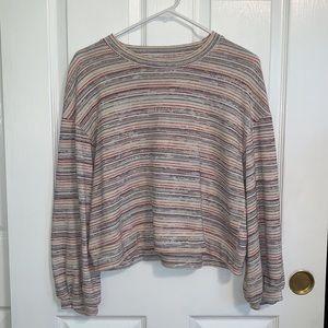 Madewell Rainbow Sweater